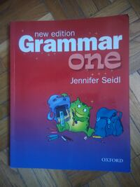 English Grammar One Jennifer Seidl MOSCOW