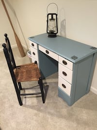 Small wood desk and chair Bayport, 11705