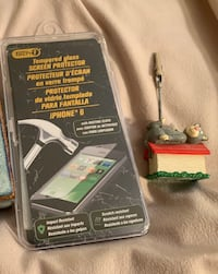Screen protector and photo clip