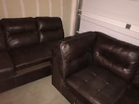 black leather recliner sofa chair Parker, 80134
