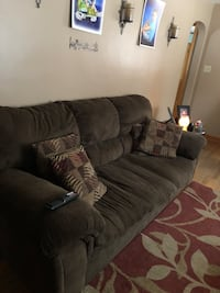 gray fabric 3-seat sofa Youngstown, 44509