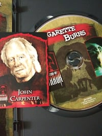 John Carpenters Cigarette Burns dvd with trading c