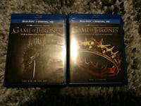 Game of Thrones Complete Seasons 1/2 BluRay Baltimore, 21206