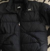 Black HH bubble jacket. Men's large. One sleeve has a mark on it Spruce Grove, T7X 2Y7