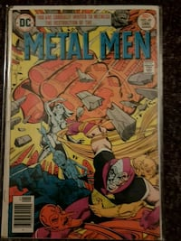 Metal men issue np. 49 dc comic Kitchener, N2P 1R7