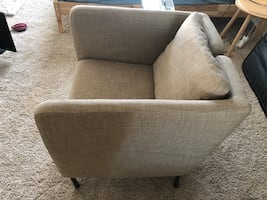 IKEA sofa chair beige