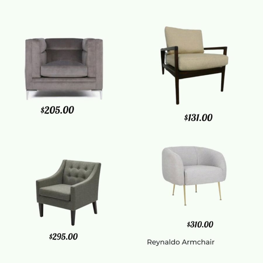 Armchairs - Delivery