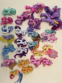 My Little Pony figures 54 km