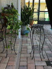 Wrought iron plant stand / string light sold separately for 8 dollars I put them on the plant or on the stand it's great for the holiday decorations  Spring Hill, 34608