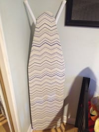white and blue chevron ironing board Bell Gardens, 90201