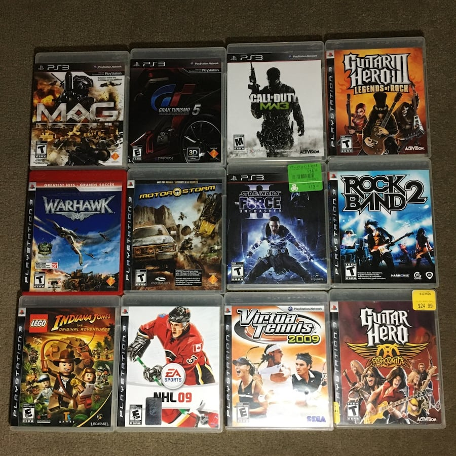 Variety PS3 game