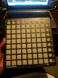 black and white Novation launch pad Charlotte, 28215