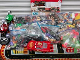 20 BAGS OF ASSORTED KIDS TOYS