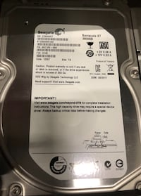 Seagate Hard Drives Silver Spring