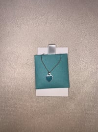 Tiffany and Co. Mini Double Heart Tag Pendant South Bend