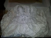 Wedding dress size 14 EUC corset back stunning  Chilliwack, V2P 8A8