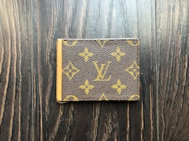 Louis Vuitton Card Holder Wallet VERY RARE French Saks Fifth Avenue