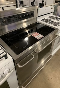 "❥Used electric glasstop 40"" Kenmore double oven - Seaford"