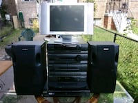 Polaroid 15 inch LCD HDTV and Sony Home Theater Sy 41 km