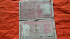 Rear indian 2 rs valuable old notes.