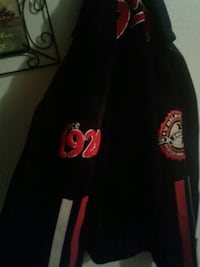 black, white, and red hooded jacket Weslaco, 78599