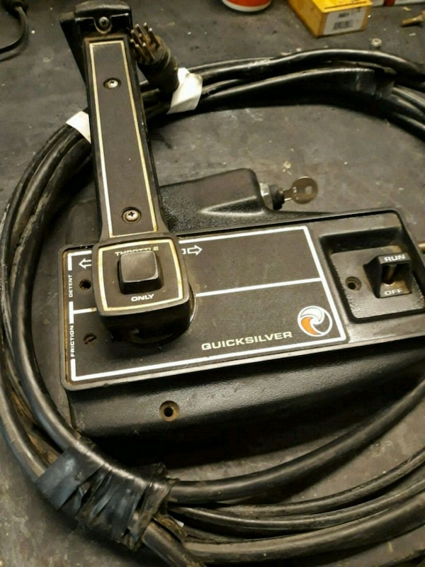 Mercury outboard controls