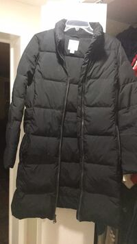 black zip-up bubble jacket Bethesda, 20817