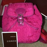 REAL Coach Mini Bag  West Long Branch, 07764