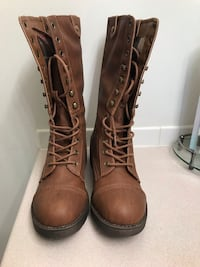 Brand new brown Madden Girl boots Women's 7.5 712 km