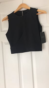 Black top from Zara. Size small. New with tags Ajax, L1T 0K1
