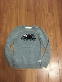 Authentic Roots girls salt&pepper sweater