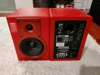 M-Audio BX5a Limited Ed. RED (pair) Hayward, 94544