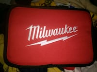 red and black Milwaukee tool case Mission, 78572