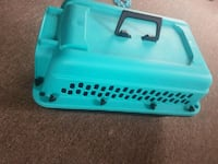 teal and black plastic pet carrier Pickering, L0C 1A0