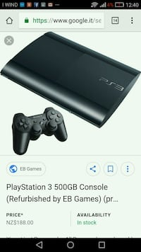 Console super sottile Sony PS3 con screenshot del  6803 km