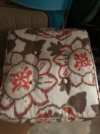 Pair of outdoor cushions