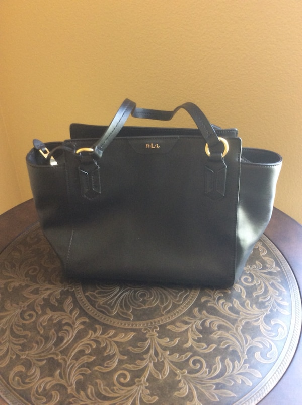 a81269fc2945d9 Used black Michael Kors leather tote bag for sale in San Jose - letgo