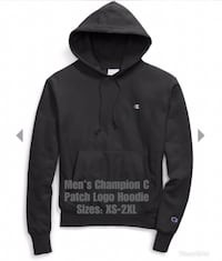 Brand New Men's Champion C Patch Hoodie 550 km