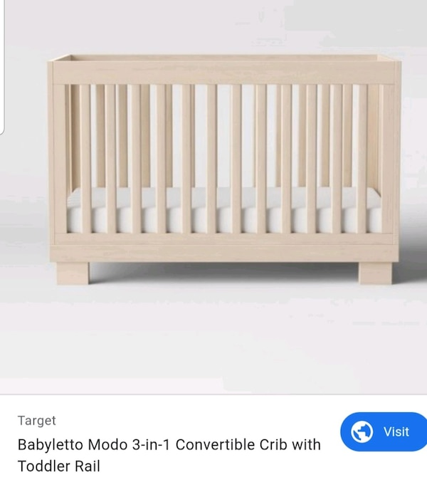I'm selling a 3-in-1 convertible crib with mattress.   1