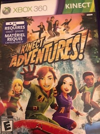 Kinect adventures xbox 360 game case Whitby, L1N 9W9