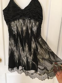 Black and Silver Sequin Dress Toronto, M6H 2N6