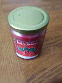 Christmas Candle-Holy Berry