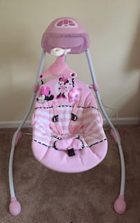 Pink Minnie Mouse swing (with working audio) Marietta, 30062