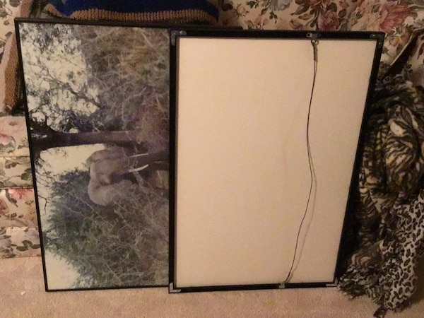 """20x30"""" picture frames with non-glare glass #4. 14x18"""" frames #4"""