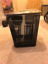 Trash can and desk accessories - NEW