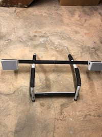Multi-gym pull up bar/push ups