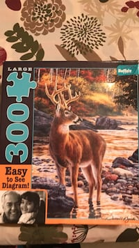 Two 300 Piece puzzles $2 each Inwood, 25428