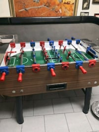 brown, green, and blue foosball table Vaughan, L4K 4L8