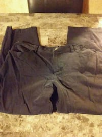 Women's size 14 chaps black pants