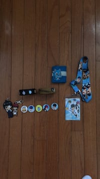 Anime Buttons,  Keychains, Bracelets,  and Lanyard 49 km